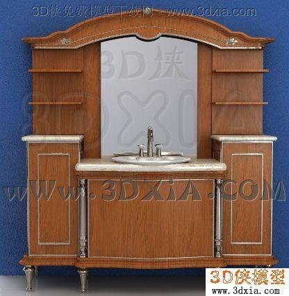 洗手台3D模型-3DMAX2008-e4