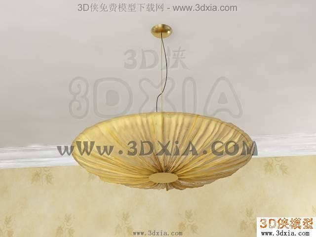 吊灯3D模型下载-71