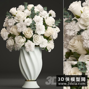 欧式装饰花