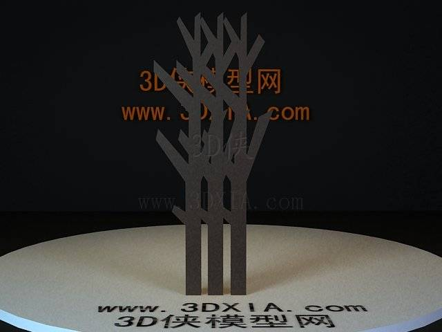 屏风隔断3D模型下载-83-版本3D8