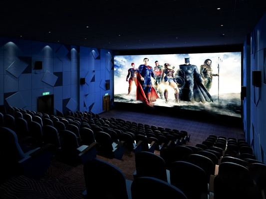 电影院3D模型