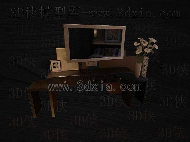 电视柜3D模型下载-版本8-52