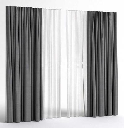 現代簡約布藝窗簾現代簡約 窗簾 布藝