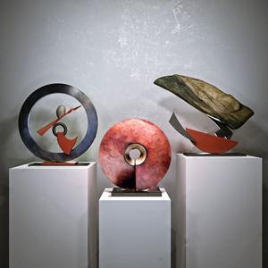 新中式摆件 新中式摆件 抽象雕塑 石雕