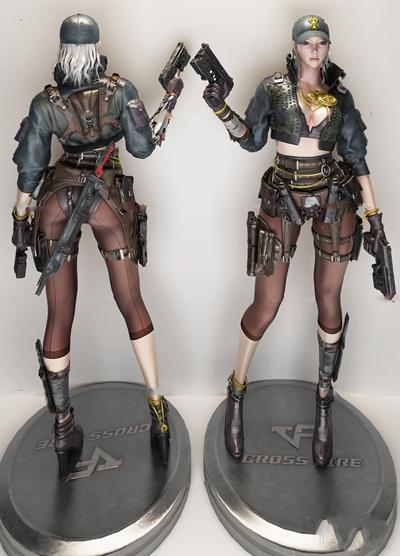 现代游戏人物3D模型