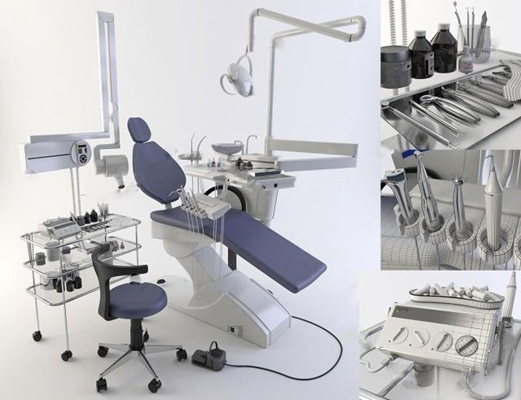 医疗器械 3D模型
