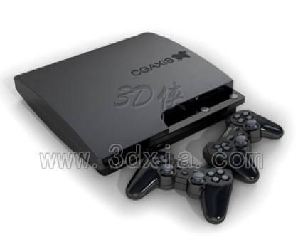 XBOX游戏机3D模型下载-版本max2008