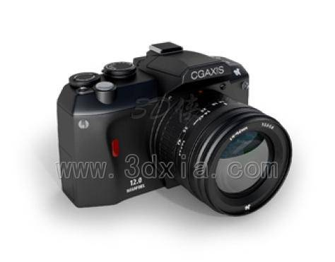 单反数码相机3D模型下载-版本max2008
