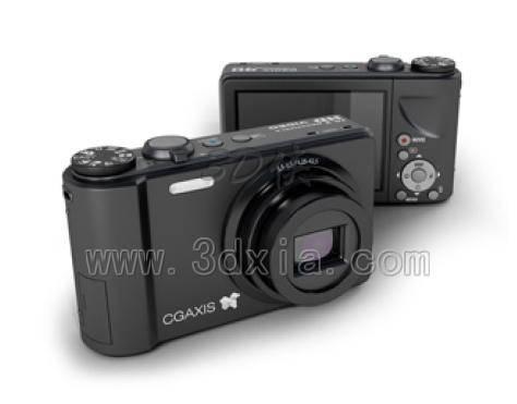 数码相机3D模型下载-版本max2008