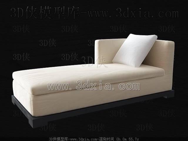 单人沙发3D模型-版本2009-93