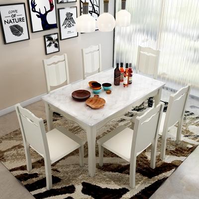 北欧餐桌椅餐具吊灯组合3D模型