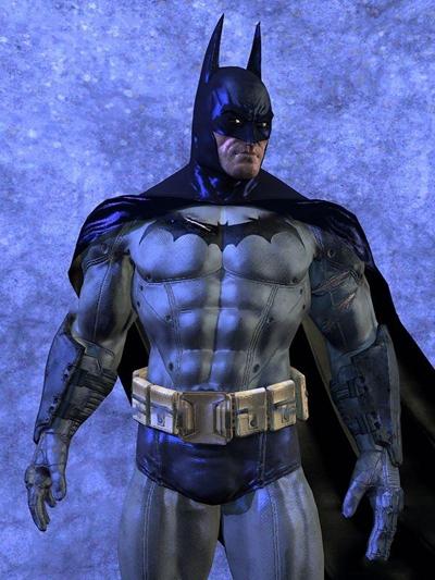 现代蝙蝠侠3D模型
