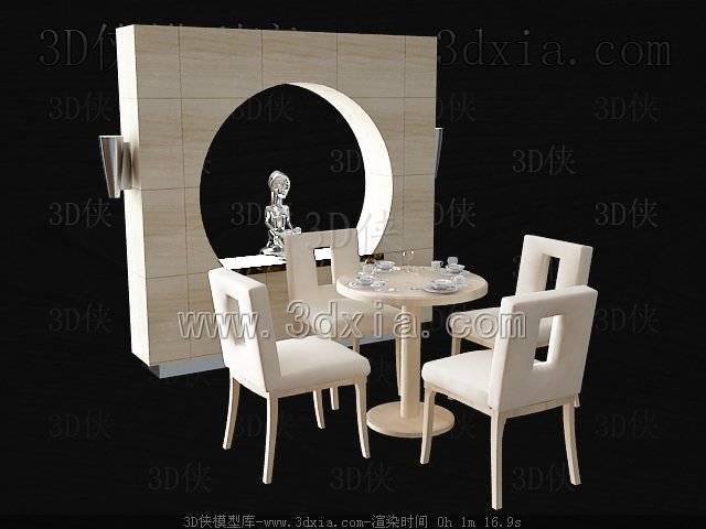 餐桌3D模型-版本2009-b231