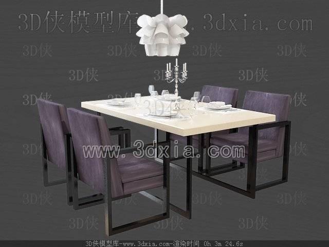 餐桌3D模型-版本2009-b61