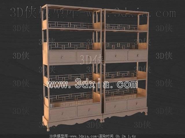 柜架3D模型-版本2009-111