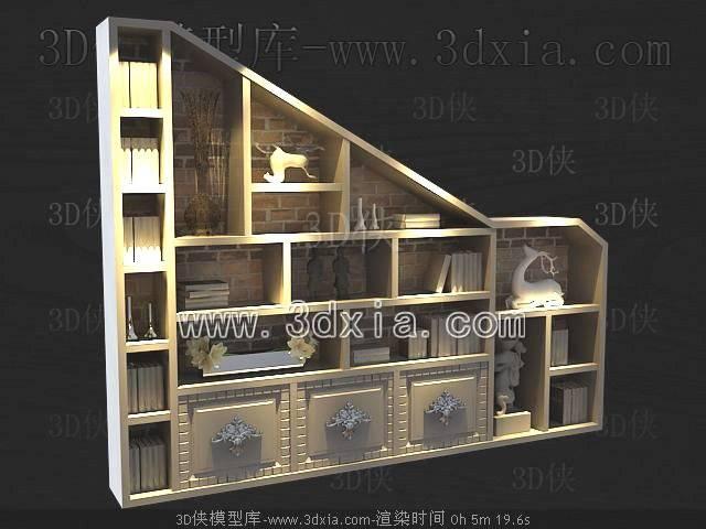 柜架3D模型-版本2009-159