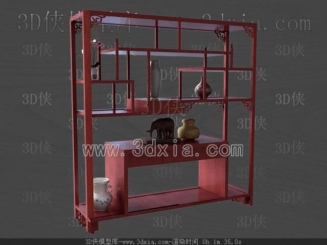 柜架3D模型-版本2009-38