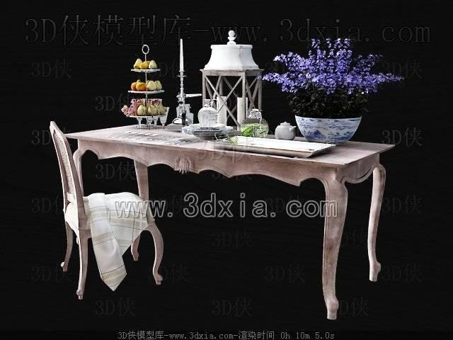 其它桌子3D模型-3dmax2009-149