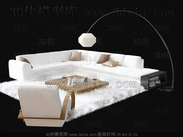 沙发组合3D模型-版本2009-b186