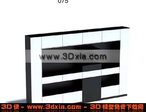无比精美的墙壁装饰3D模型