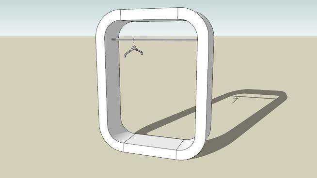 小件寄存处 镜子 箱包 包 水壶 椅子