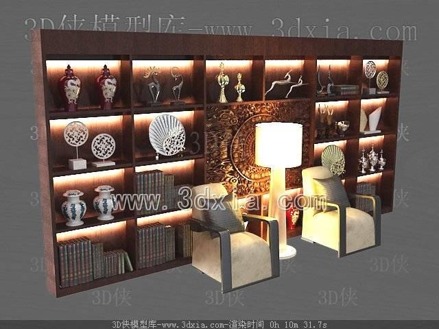 壁柜3D模型-版本2009-158