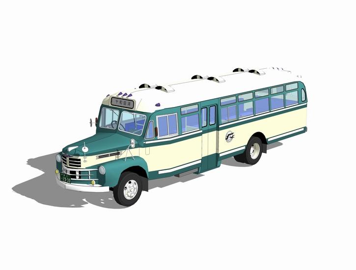 校车SU模型