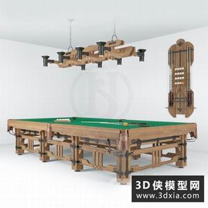 台球桌模型下载