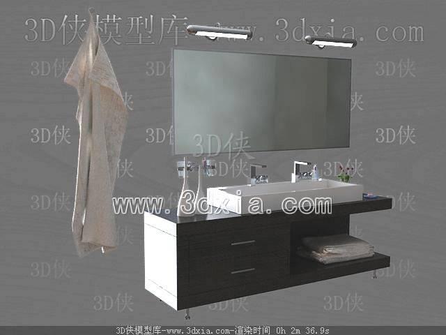 洗手台3D模型-版本2009-138