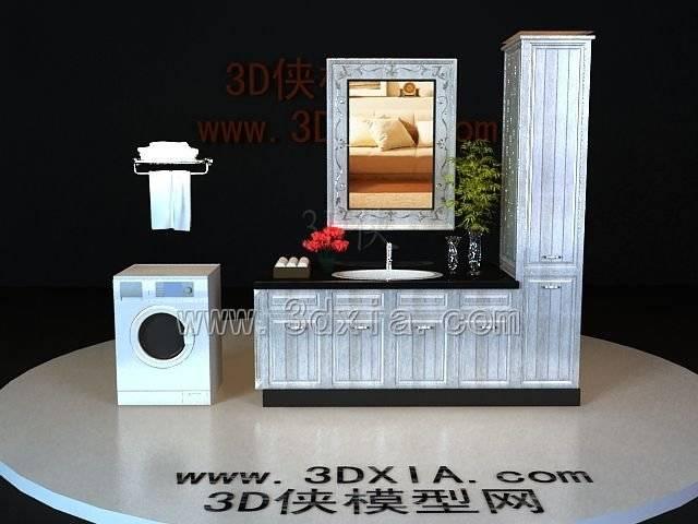 洗手台3D模型-版本2009-332