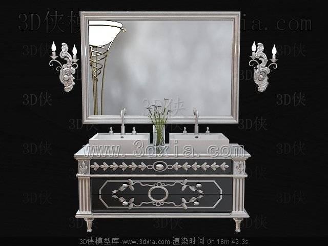 洗手台3D模型-版本2009-363