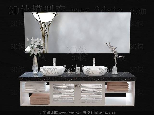 洗手台3D模型-版本2009-388