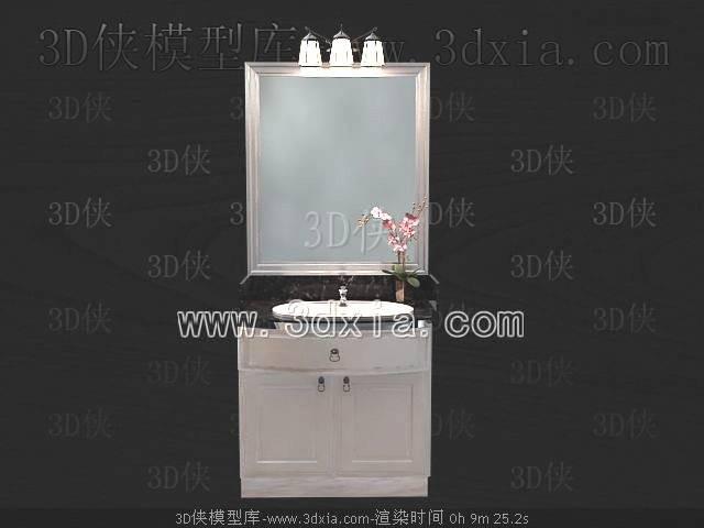 洗手台3D模型-版本2009-416
