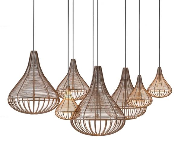 东南亚编织吊灯3d模型