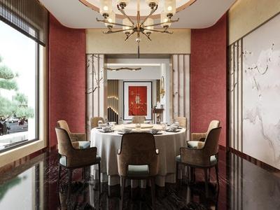新中式酒店包房