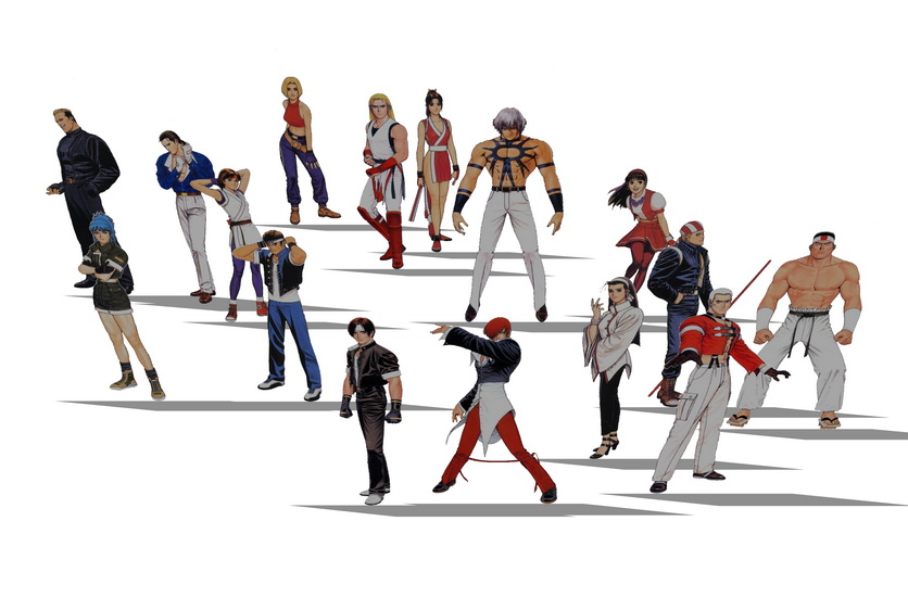 2D游戏人物组合SU模型