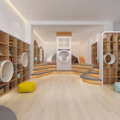 北歐幼兒園活動室3D模型