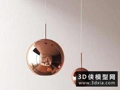 现代球形金属吊灯