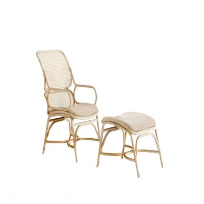 西班牙 Expormim 现代躺椅 现代躺椅 脚凳 藤编椅子 西班牙 Expormim