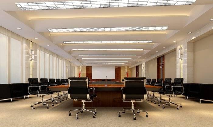 会议室3D模型图