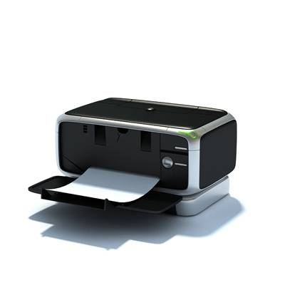 黑色打印机
