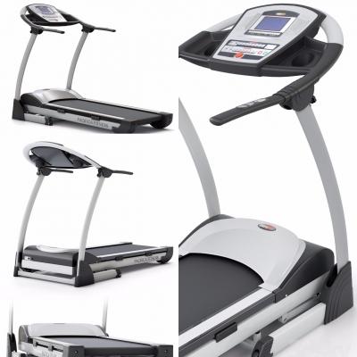 现代跑步机3D模型