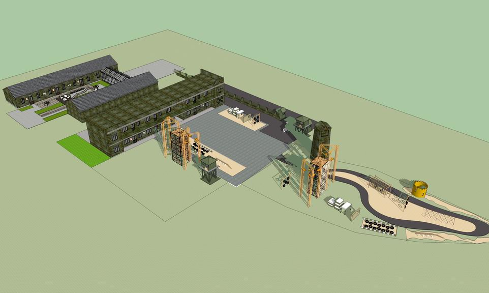 拓展中心训练基地SU模型