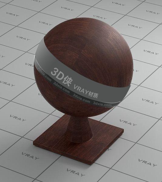 棕色木头Vray材质下载