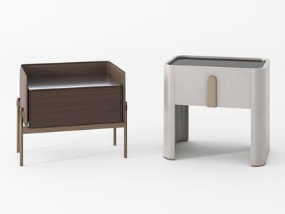 现代时尚床头柜3d模型