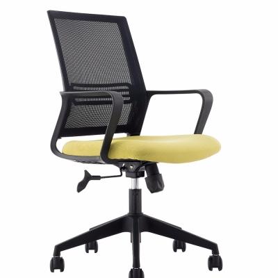 现代网布办公职员椅3D模型