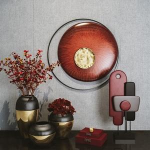 新中式花瓶摆件 新中式饰品摆件 花瓶 花艺 饰品摆件 墙饰 壁挂