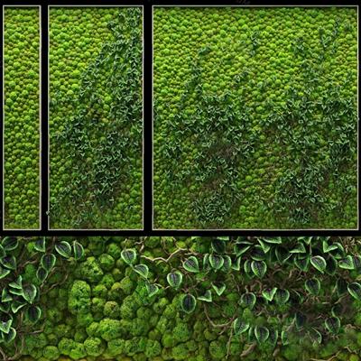 绿植墙3D模型