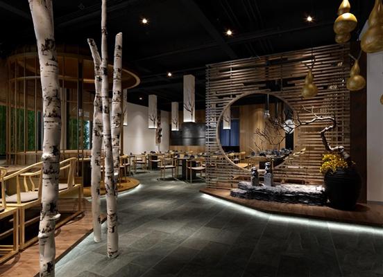 干锅店 3D模型