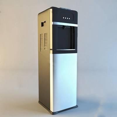现代饮水机3D模型下载